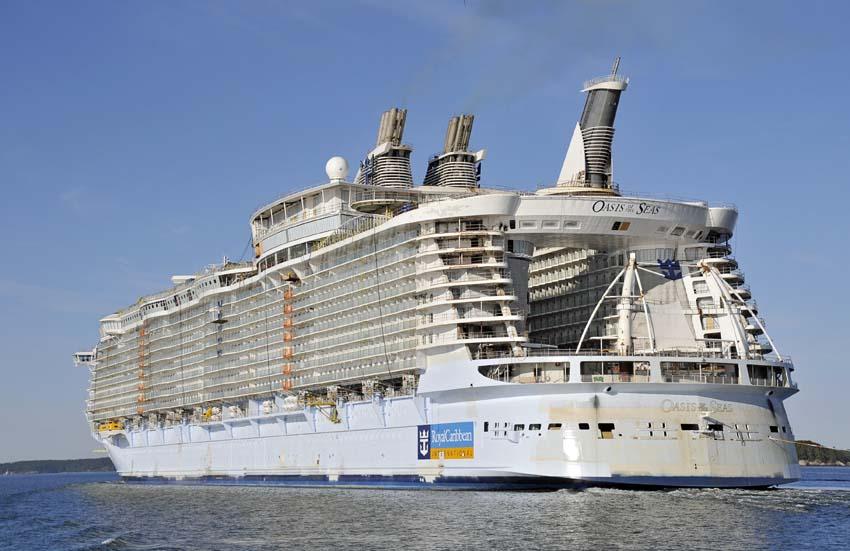 Oasis of the Seas, el crucero más grande del mundo