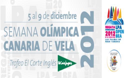 Semana Olímpica Canaria de Vela 2012