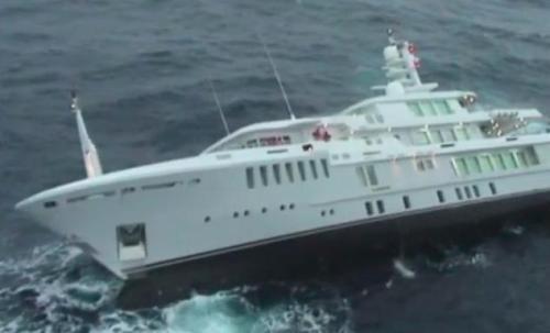 Yate Yogi se hunde en mar Mediterráneo