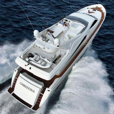 Yates con clase de Ferreti Group Yatch