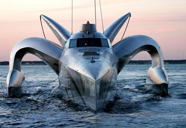El barco más rapido del mundo