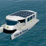 Barcos solares en la Expo de Zaragoza