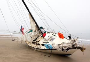 Barcos de la Jet-Set norteamericana sin control y a la deriva