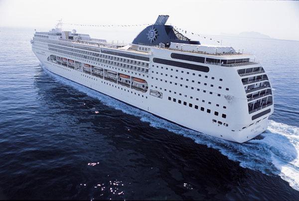 Recibir el año nuevo en un crucero