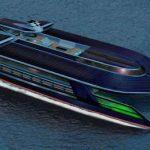 El catamarán Ocen Empire LSV, el yate más ecológico del mundo