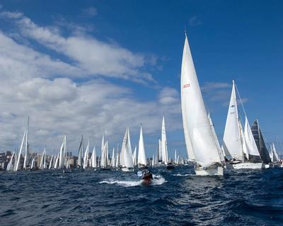 Desde Gran Canaria partirán más de doscientos veleros hacia el Caribe