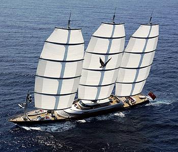 Un velero de 115 millones de euros